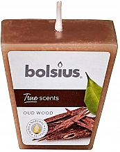 "Fragrances, Perfumes, Cosmetics Scented Candle ""Argan Tree"", 47/47 mm - Bolsius True Scents Candle"