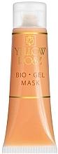 Fragrances, Perfumes, Cosmetics Facial Bio Gel Mask - Yellow Rose Bio Gel Mask