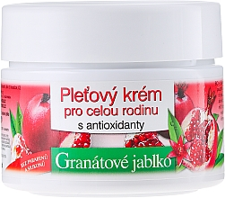Fragrances, Perfumes, Cosmetics Face Cream - Bione Cosmetics Pomegranate Facial Cream For The Whole Family With Antiox