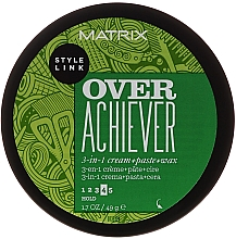 Fragrances, Perfumes, Cosmetics Hair Styling Paste - Matrix Style Link Over Achiever Paste