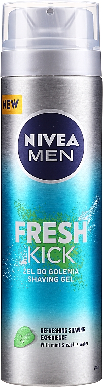 Shaving Gel - Nivea For Men Fresh Kick Shaving Gel — photo N1