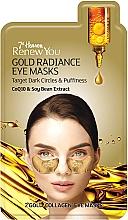 "Fragrances, Perfumes, Cosmetics Eye Mask ""Golden Radiance"" - 7th Heaven Renew You Gold Radiance Eye Masks"
