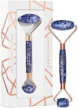 Fragrances, Perfumes, Cosmetics Facial Roller - Crystallove Sodalite Roller
