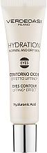Fragrances, Perfumes, Cosmetics Lifting Eye Gel - Verdeoasi Hydrating Eyes Contour Lifting Effect