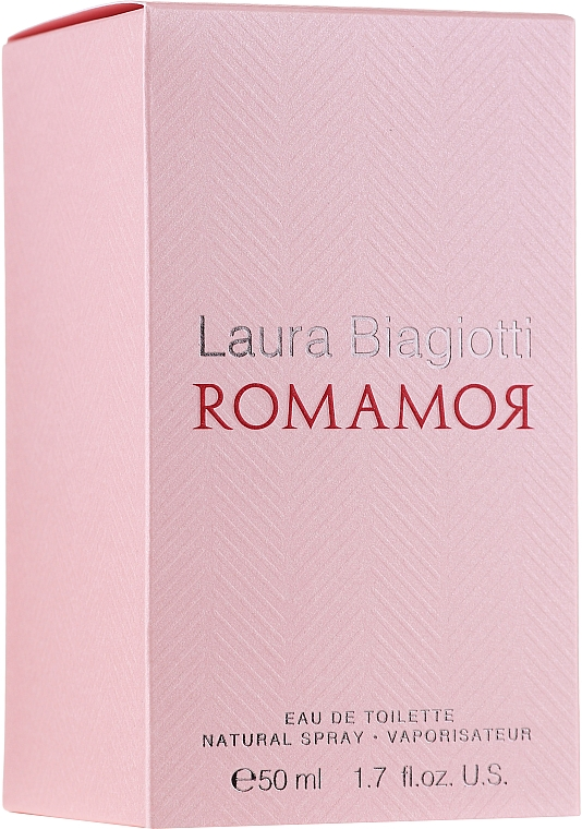 Laura Biagiotti Romamor - Set (edt/50ml+b/lot/50ml) — photo N4