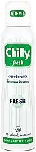 Fragrances, Perfumes, Cosmetics Deodorant Spray - Chilly Fresh Deodorant Spray