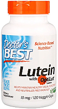 Fragrances, Perfumes, Cosmetics Lutein with OptiLut, 10mg, capsules - Doctor's Best