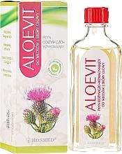 "Fragrances, Perfumes, Cosmetics Anti Hair Loss Treatment ""Aloevit"" - Kosmed Aloevit Nourishing & Strengthening"