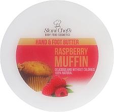 Fragrances, Perfumes, Cosmetics Raspberry Muffin Hand & Foot Cream - Hristina Cosmetics Stani Chef's Raspberry Muffin Hand & Foot Butter