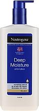 Fragrances, Perfumes, Cosmetics Body Emulsion - Neutrogena Deep Moisture Creamy Oil