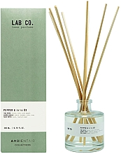 Fragrances, Perfumes, Cosmetics Reed Diffuser - Ambientair Lab Co. Pepper & Iris