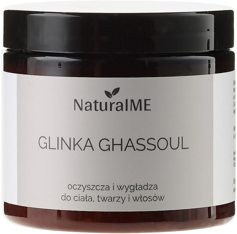 "Natural Clay ""Moroccan Volcanic"" - NaturalME Ghassoul"
