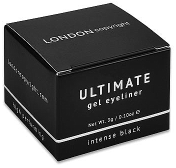 Eyeliner - London Copyright Ultimate Gel Eyeliner