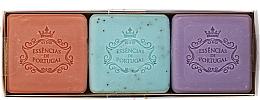 Fragrances, Perfumes, Cosmetics Set - Essencias De Portugal Aromas Collection Spring Set (soap/3x80g)