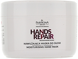 "Fragrances, Perfumes, Cosmetics Hand Mask ""Peach Hands"" - Farmona Farmona Brzoskwiniowe Dlonie"