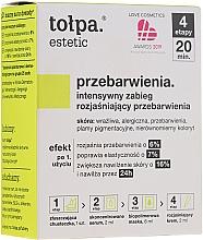 Fragrances, Perfumes, Cosmetics 4-Step Brightening Treatment - Tolpa Estetic 4 Step Intensive Treatment Care