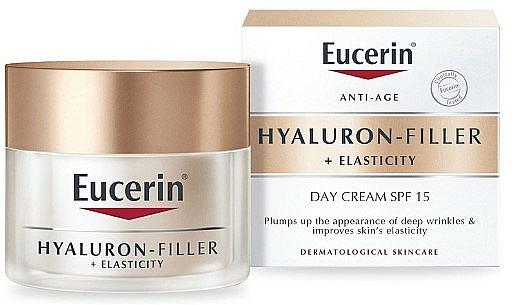 Set - Eucerin Hyaluron Filler + Elasticity 2020 — photo N3