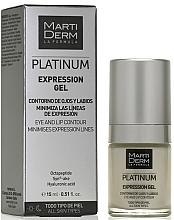 Fragrances, Perfumes, Cosmetics Eye & Lip Gel - MartiDerm Platinum Expression Gel