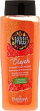 Fragrances, Perfumes, Cosmetics Shower Gel - Farmona Tutti Frutti Pomarancza & Truskawka Shower Gel