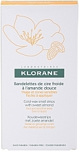 Fragrances, Perfumes, Cosmetics Hair Removal Wax Strips for Face & Sensitive Areas - Klorane Hygiene et Soins du Corps