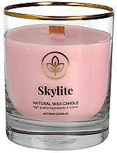 Fragrances, Perfumes, Cosmetics Decorative Candle in Glass, 8x9.5cm - Artman Skylite