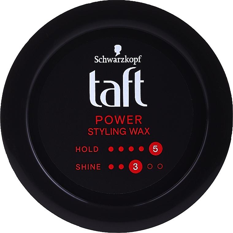 Styling Hair Wax - Schwarzkopf Taft Power Wax