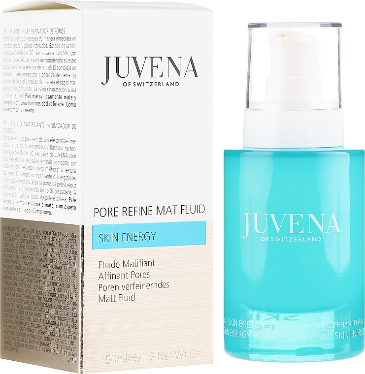 Mattifying Facial Fluid - Juvena Skin Energy Pore Refine Mat Fluid