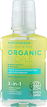 Fragrances, Perfumes, Cosmetics Mouthwash 3 in 1 - Organic People Coconut And Mint