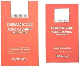 Fragrances, Perfumes, Cosmetics Acne Calming Spot Patch - FarmStay Derma Cube Acne Calming Spot Patch
