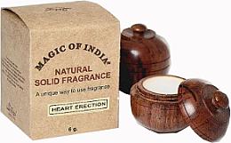 "Fragrances, Perfumes, Cosmetics Natural Solid Fragrance Cream ""Heart Erection"" - Shamasa"