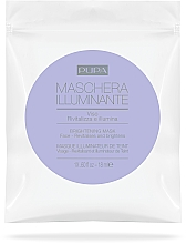Fragrances, Perfumes, Cosmetics Face Sheet Mask - Pupa Maschera Illuminante Viso