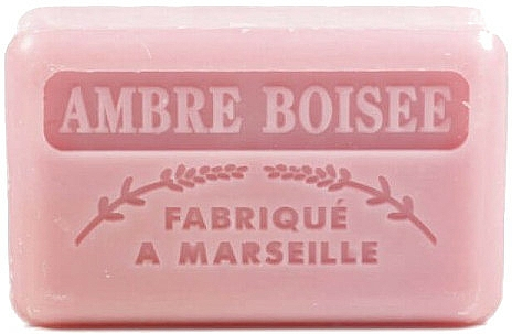 """Marseilles Soap """"Wood Amber"""" - Foufour Savonnette Marseillaise Ambre Boisee"""