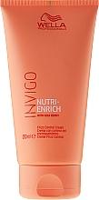 Fragrances, Perfumes, Cosmetics Unruly Hair Cream - Wella Professionals Invigo Nutri-Enrich Frizz Control Cream