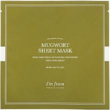 Fragrances, Perfumes, Cosmetics Wormwood Facial Sheet Mask - I'm From Mugwort Sheet Mask