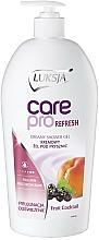 Fragrances, Perfumes, Cosmetics Shower Cream-Gel - Luksja Care Pro Refresh Fruit Cocktail Creamy Shower Gel
