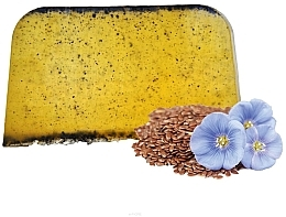 Fragrances, Perfumes, Cosmetics Solid Argan Hair Shampoo with Linseed Oil - E-Fiori Solid Hair Shampoo