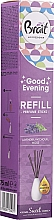 "Fragrances, Perfumes, Cosmetics Reed Diffuser ""Lavanda"" - Brait Home Sweet Home Good Evening"