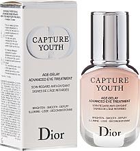 Fragrances, Perfumes, Cosmetics Eye Treatment - Dior Capture Youth Age-Delay Advanced Eye Treatment