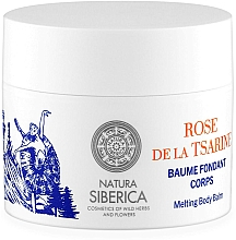 Fragrances, Perfumes, Cosmetics Melting Body Balm - Natura Siberica Mon Amour Rose de la Tsarine Melting Body Balm