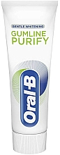 Fragrances, Perfumes, Cosmetics Toothpaste - Oral-B Professional Gumline Pro-Purify Gentle Whitening Toothpaste