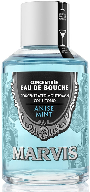 """Mouthwash """"Anise and Mint"""" - Marvis Concentrate Anise Mint Mouthwash"""