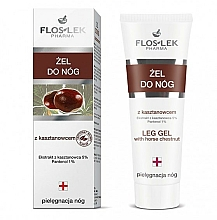 "Fragrances, Perfumes, Cosmetics Foot Gel ""Chestnut"" - Floslek Foot Gel"