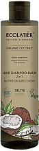 Fragrances, Perfumes, Cosmetics 2-in-1 Hair Balm-Shampoo - Ecolatier Organic Coconut Hair-Shampoo Balm