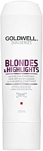 Fragrances, Perfumes, Cosmetics Anti-Yellow Conditioner for Blonde Hair - Goldwell Dualsenses Blondes & Highlights Anti-Yellow Conditioner