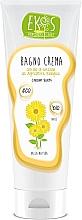 Fragrances, Perfumes, Cosmetics Bath Cream with Natural Sunflower Oil - Ekos Personal Care Bagno Cream Bath