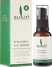 Fragrances, Perfumes, Cosmetics Eye Serum - Sukin Antioxidant Eye Serum