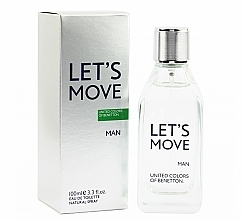 Fragrances, Perfumes, Cosmetics Benetton Let's Move - Eau de Toilette