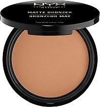 Fragrances, Perfumes, Cosmetics Matte Bronzing Powder - NYX Professional Makeup Matte Bronzer