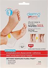 Fragrances, Perfumes, Cosmetics Exfoliating Heel Mask - Dermo Pharma Skin Repair Expert