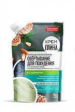 Fragrances, Perfumes, Cosmetics Anti-Cellulite Body Wrap Clay Cream - Fito Cosmetic Narodnyye Retsepty